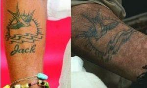 La maledizione della prima luna tatuoggio-jack-sparrow-curiosity-movie