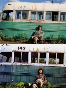 into the wild magic bus Emile Hirsch Christopher McCandless curiosity movie