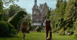miss peregrine - la casa dei ragazzi speciali garden - curiosity movie