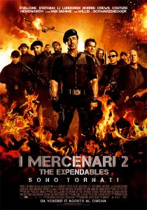 i mercenari 2 curiosity movie