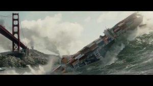 san andreas tsunami curiosity movie