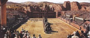 ben hur set curiosity movie