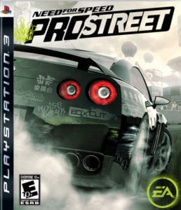 Need For Speed -ProStreet curiosity movie