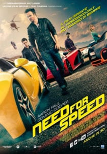 Need For Speed curiosity movie