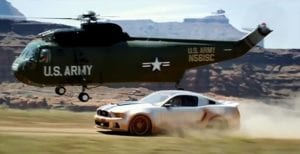 Need For Speed elicottero curiosity movie