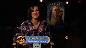 Arrival Martine Bertrand curiosity movie
