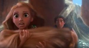 Rapunzel diga curiosity movie