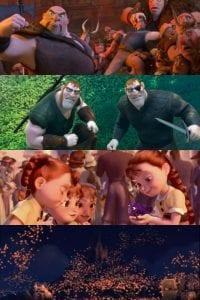 Rapunzel personaggi curiosity movie