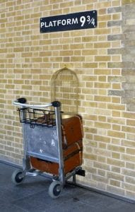Harry Potter e la pietra filosofale king's cross curiosity movie