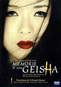 Memorie di una geisha curiosity movie