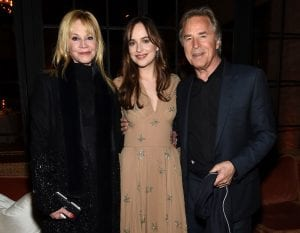 Cinquanta sfumature di grigio dakota johnson Melanie Griffith e Don Johnson curiosity movie