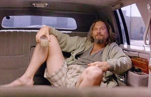 Il grande Lebowski Jeff Bridges.CURIOSITY MOVIE