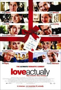 Love Actually curiosity movie