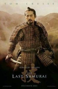 L'ultimo samurai Hiroyuki Sanada curiosity movie