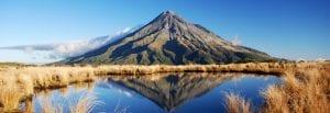 L'ultimo samurai Mount Taranaki, curiosity movie