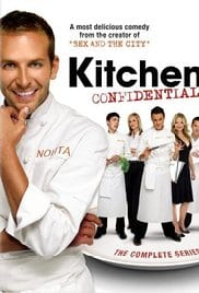 Burnt serie tv Kitchen Confidential curiosity movie