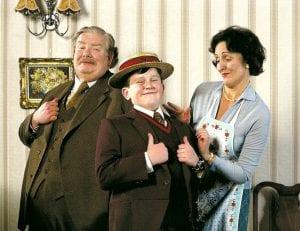 Harry Potter e il calice di fuoco Dursley curiosity movie
