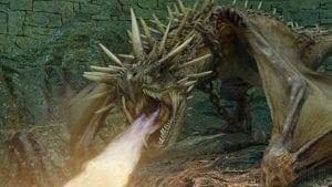 Harry Potter e il calice di fuoco draghi curiosity movie