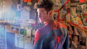 The Amazing Spider-Man Andrew Garfield spiderman curiosity movie