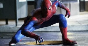 The Amazing Spider-Man costume curiosity movie