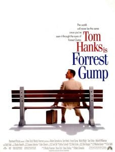 The Walk forrest gump curiosity movie
