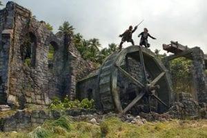 Pirati dei caraibi La maledizione del forziere fantasma ruota curiosity movie